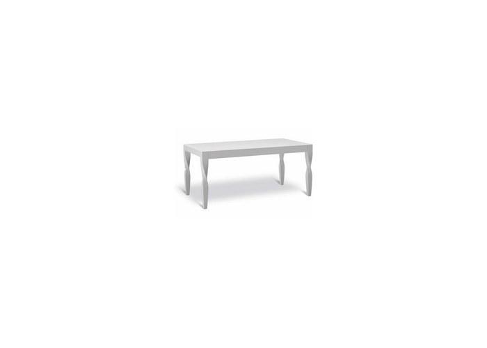 размер: 160+50*90*75 Раскладной деревянный стол с уникальным дизайном - массивные деревянные ножки словно повернуты...